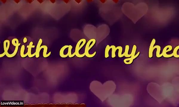A Sweet Love Message For Your Love Status