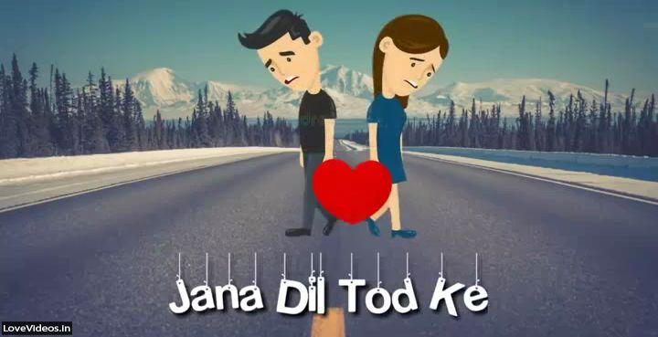 Beech Safar Me Na Hindi Sad Love Status Video