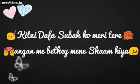 Channa Mereya Miss You Status Video In Hindi