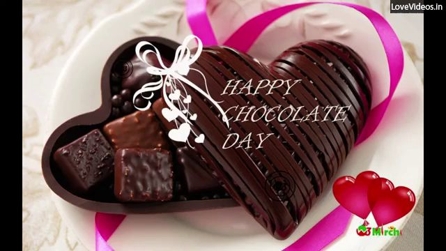 Happy Chocolate Day Greeting For Love Status Video