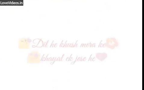 Haseen Lamha Lovely Moment Hindi Status Video