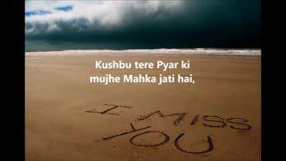 Miss You Hindi Shayari Love Greeting