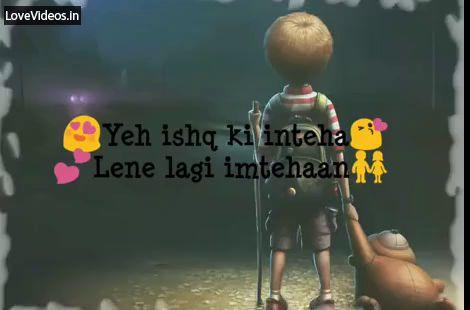 Need Hug Romantic Hindi Status Video