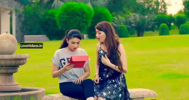 Sanu Ek Pal Chain Na Ave Cute Love Status Video
