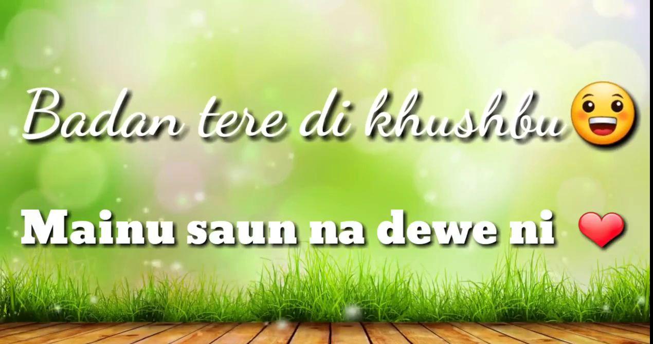 Sun Meri Rani Rani Lovely Love Status Video