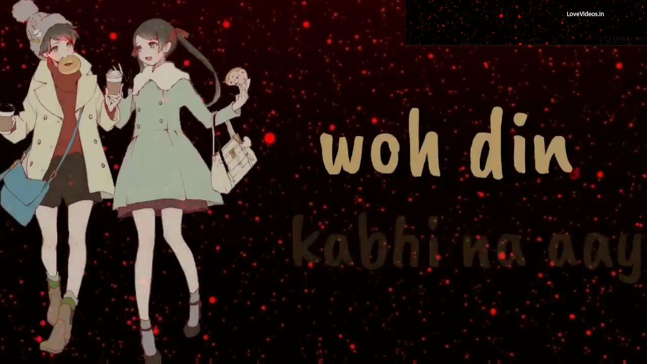 Tere Jaisa Yaar Kahan  Video status for whatsapp love song