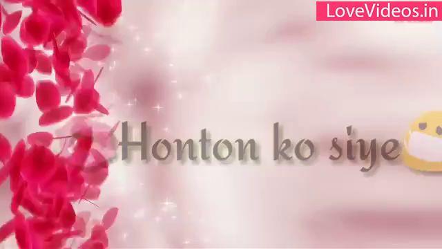 Tere Liye Hum Hai Jiye Love Status Video