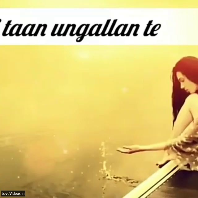 Tu Sab Janada Ve Punjabi Sad Love Status Video